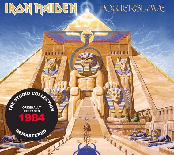 Cd Iron Maiden Powerslave (1984) Remastered