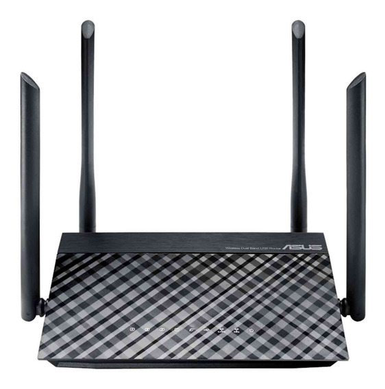 Router Inalambrico Asus Ac1200 Dual Band 5dbi Usb Rt-ac1200