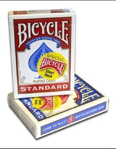Naipes Bicycle Poker Ilusionismo Magia Short Deck Cartas