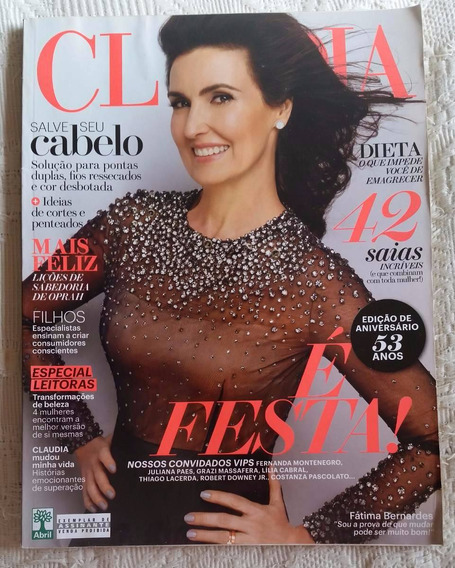 Revista Claudia - Out/2014 - Fátima Bernardes/thiago Lacerda
