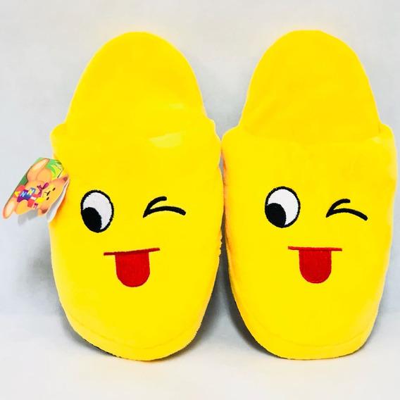 Pantufa Emoji Whatsapp P,m,g - 6 Modelos Infantil