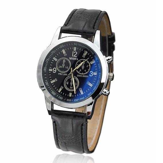 Relógio Homens Minimalista Discar Elegante Ponteiros Quartzo