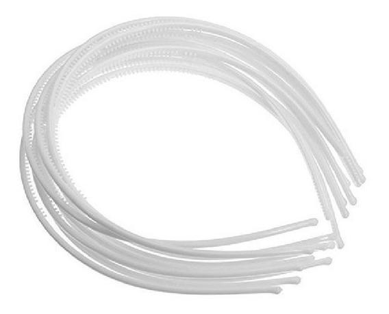 Diademas De Plástico Para Decorar O Forrrar 63 Mm 60 Pz