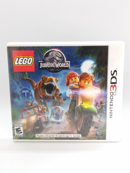 Lego Jurassic World Nintendo 3ds Midia Fisica Jogo Game 2ds