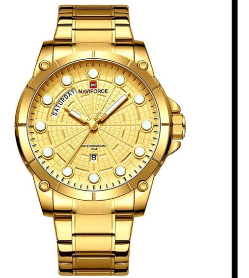 Relógio Naviforce 9152 Dourado