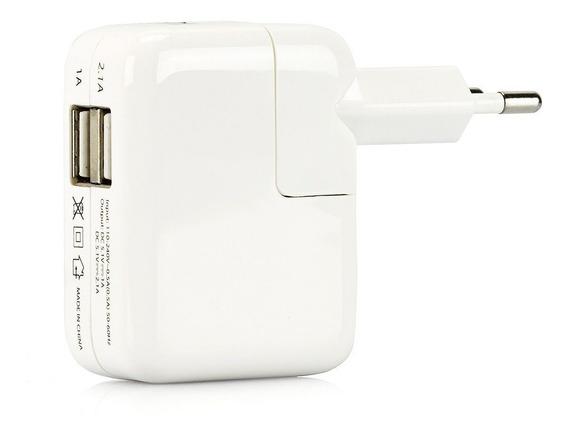 Carregador Para iPhone, iPad E iPod Com 2 Portas Usb