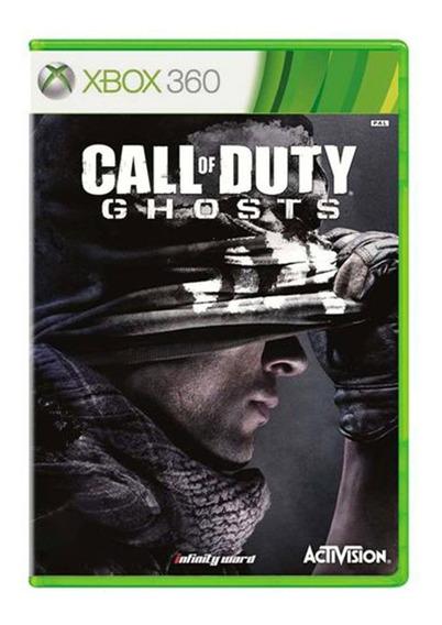 Call Of Duty Ghosts - Xbox 360 - Usado - Original
