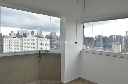 Imagem 1 de 12 de Cobertura Duplex Vista Maravilhosa Na Vl Nova Conceição - Pj49343