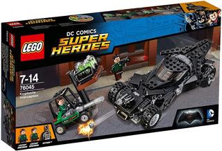 Lego Dc Comics Super Heroes 76045 Kryptonite Interception