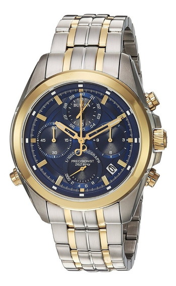 Reloj Bulova 98b276 Quartz Stainless Steel Casual Hombre