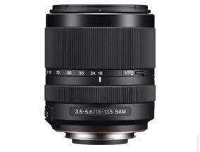 Lente Sony Dt 18-135mm F/3.5-5.6 Sam Alpha A-mount