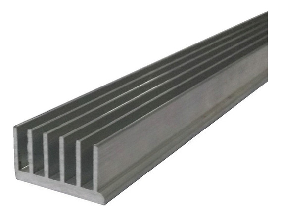 Dissipador Calor Aluminio 4,4cm Largura C/ 30cm