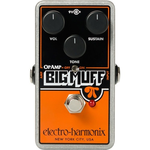 Pedal Electro Harmonix Op-amp Distortion Sustainer C/ Nota