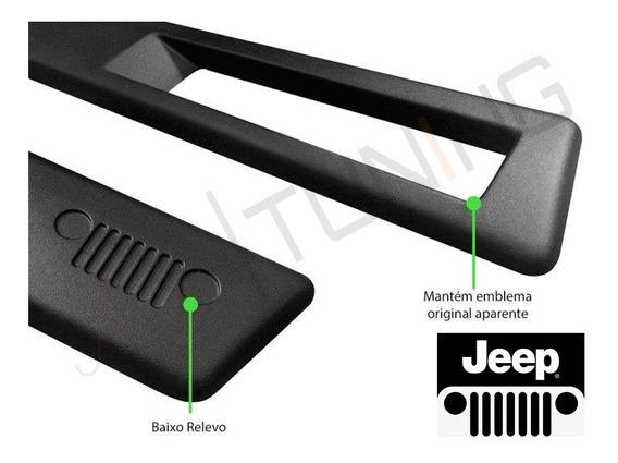 X Jogo De Friso Lateral Jeep Renegade Original 2020/2021