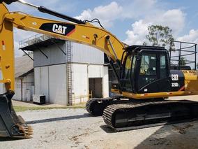 Escavadeira Caterpillar 320d 2013 5000 Horas