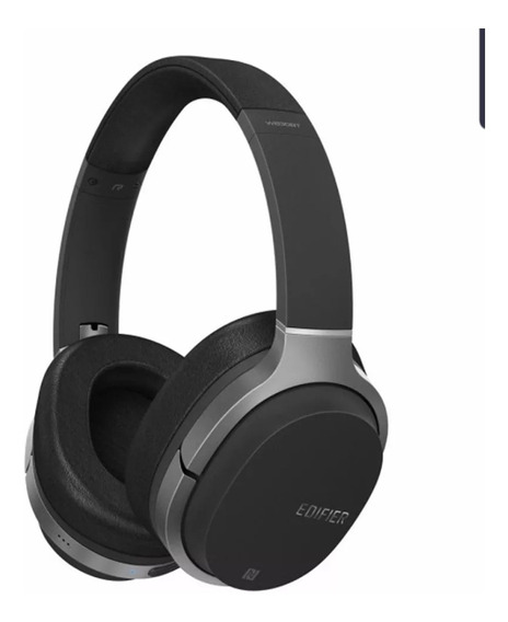Fone De Ouvido Edifier Bluetooth W830bt Preto 95 Horas Uso