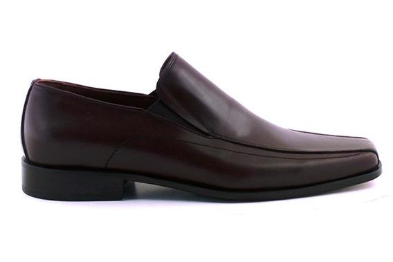 Zapato Hombre Suela Cuero Briganti Vestir Traje - Hccz00932