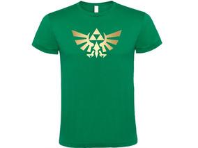 Camiseta Estampada Legend Of Zelda / Logo
