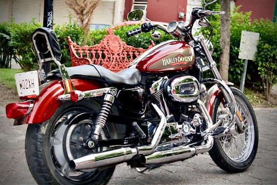 Hermosa Harley Davidson Sportster 1200cc 2009