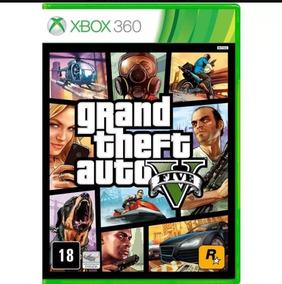 Grand Theft Auto Gta V Xbox 360 Midia Fisica Original Lacrad