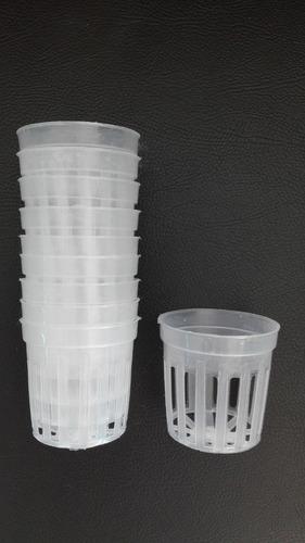 Imagen 1 de 1 de Maceta Plastica. Canastilla. Hidroponia X 100 Uni. Cultivos.