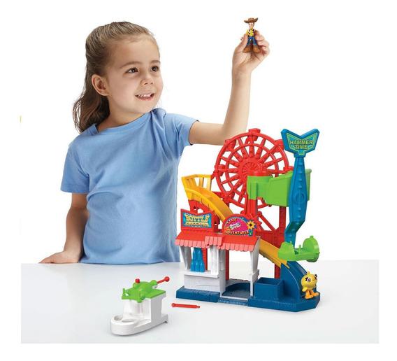 Playset E Mini Figuras - 38 Cm - Parque Divertido - Imaginex