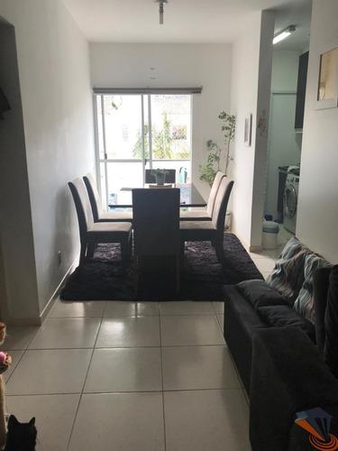 Apartamento Com 2 Dormitórios À Venda, 60 M² Por R$ 175.000,00 - São Sebastião - Palhoça/sc - Ap0497