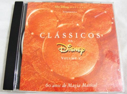 Imagem 1 de 6 de Cd Classicos Da Disney Volume 5 Trilha De Filme
