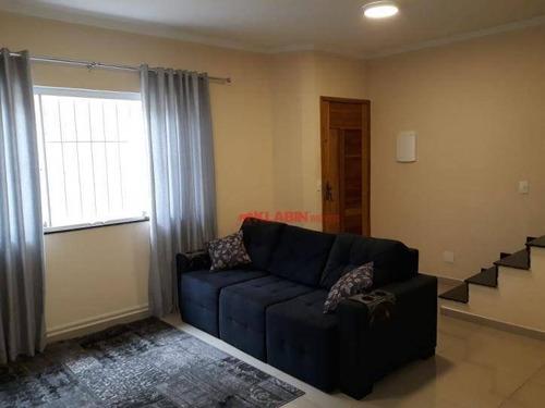 #=sobrado Com 3 Dormitórios À Venda, 120 M² Por R$ 550.000 - Parque Da Vila Prudente - São Paulo/sp - So0811