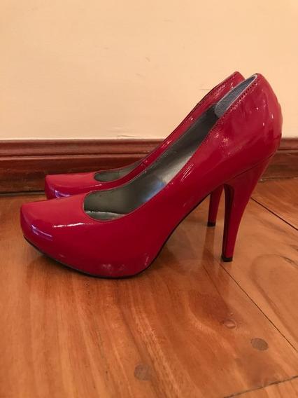 Zapatos Guess Mujer Importados Rojo/colorado