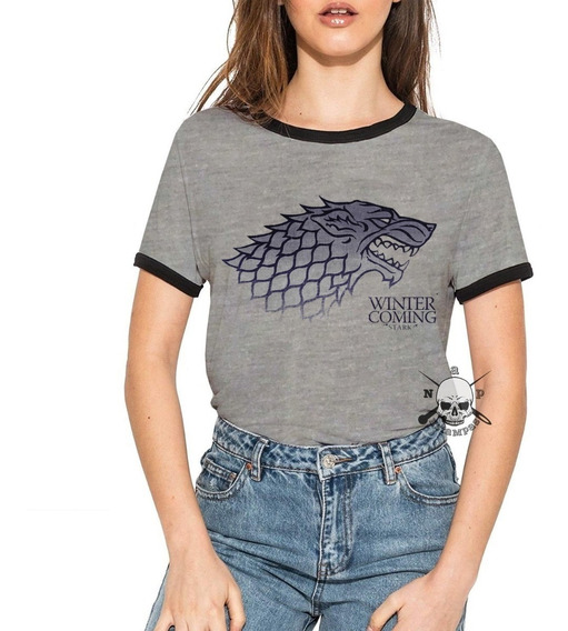 Remeras Ringer Game Of Thrones Varios Modelos Parte 1