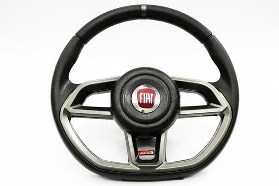 Volante Grafite Esportivo Fiat Palio Uno Fire Stilo + Cubo