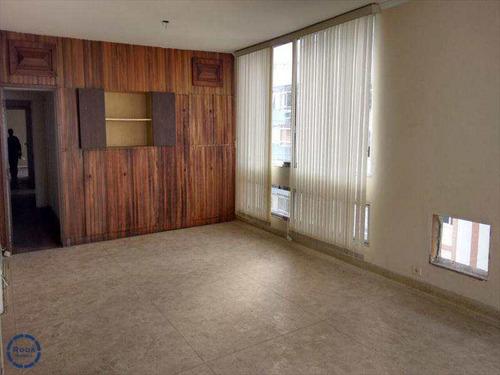 Apartamento Em Santos Bairro Gonzaga - V8201