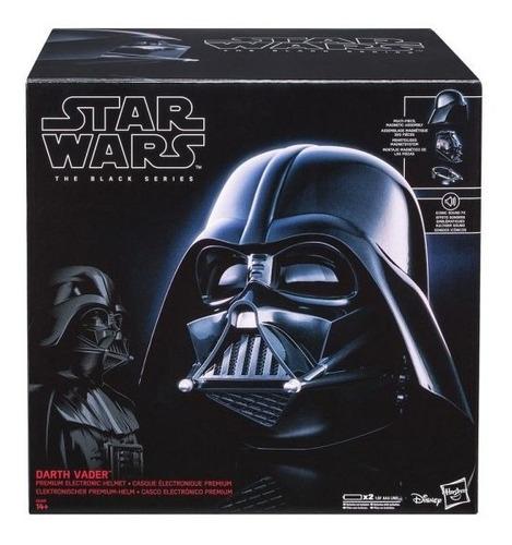 Imagem 1 de 5 de Star Wars Black Series Capacete Eletrônico Darth Vader E0328