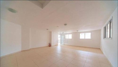 Cobertura Com 2 Dormitórios Para Alugar, 100 M² Por R$ 2.800,00/mês - Campestre - Santo André/sp - Co5429