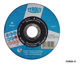 Disco Corte Recto Fino Basic A60 115x10x22