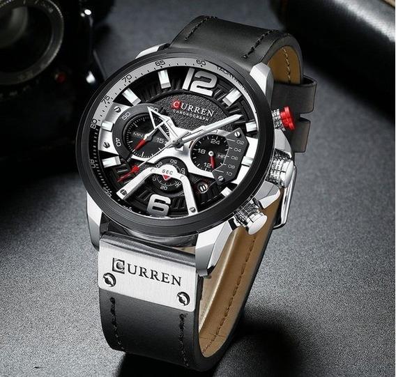 Relógio Esportivo Luxo Curren - 100% Original,todo Funcional