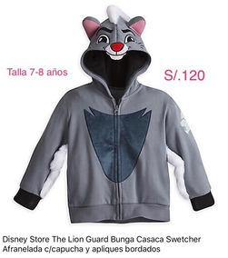 Disney Store The Lion Guard Casaca Poleron Original