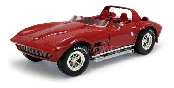Chevy Corvette Grand Sport 1964 1:18 Yat Ming 92698-vermelho