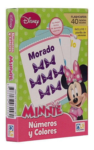 Flash Cards Numeros Y Colores Minnie R-60203-n