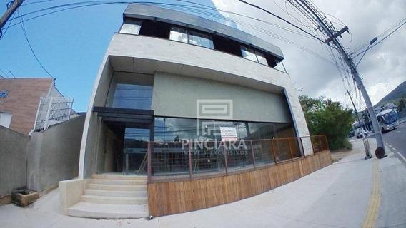 Loja Comercial, 450 M² Por R$ 14.000/mês - Itaipu - Niterói/rj - Lo0047