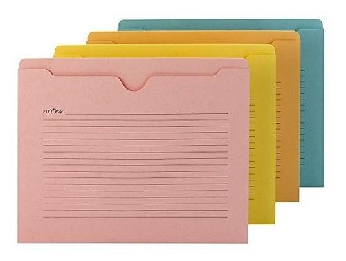 Imagen 1 de 5 de Smead Notas Chamarra Carta Tamaño De Archivo Varios Colores