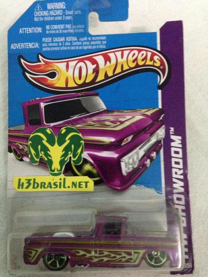 Bx112 Hot Wheels 2012 Pickup 62 Chevy Custom Truck H3br