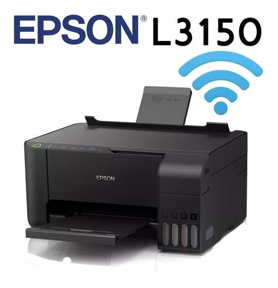Multifuncional Epson L3150 Ecotank Com Tinta Sublimatica