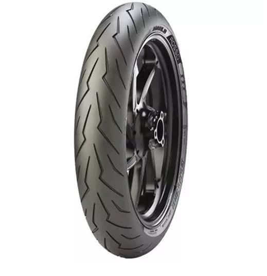Pneu Yamaha Fz1 1000 Fazer 120/70-17 Diablo Rosso 3 Pirelli