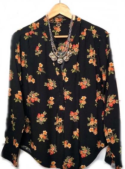 Camisa Estampadas Todos Los Talles Mujer Hasta 4xl Camisolas