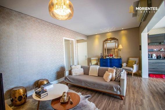 Apartamento Com 3 Dormitórios À Venda, 108 M² Por R$ 750.000 - Vittá Condomínio Clube - Jardim Ana Maria - Jundiaí/sp - Ap0197