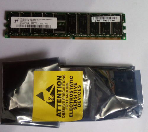 Memoria 512mb Ddr-266 Ecc Registered Mt18vddt6472g-26ac0