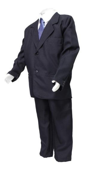 Terno Social Infantil Calça Jaqueta Camisa Gravata E Cinto