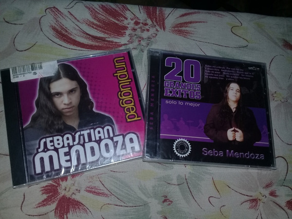 Lote Cds Sebastian Mendoza Nuevos Cerrados